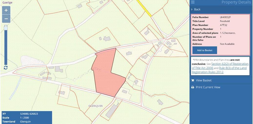 Glenquin, Stran, Newcastlewest